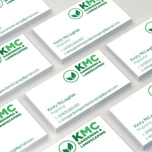 KMC Gardening & Landscaping - Business Cards