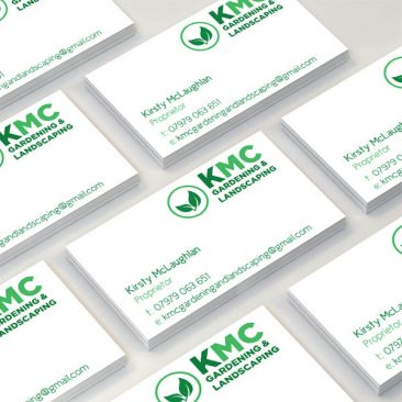 KMC Gardening & Landscaping - Business Cards