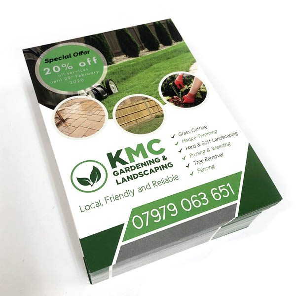 KMC Gardening & Landscaping - Flyers