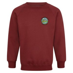 St James' School - Light Maroon Sweatshirt
