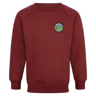 St James' School - Light Maroon Sweatshirt