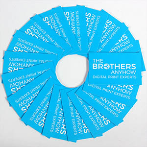 The Brothers Anyhow - Print Services
