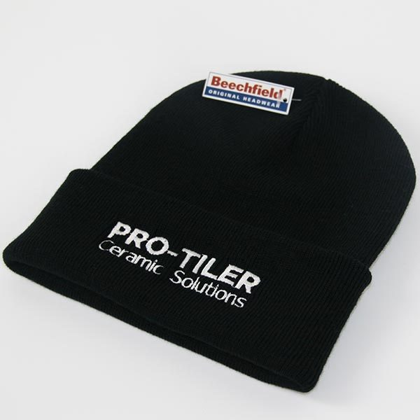 Pro-Tiler Case Study - Embroidered Beanie Hat