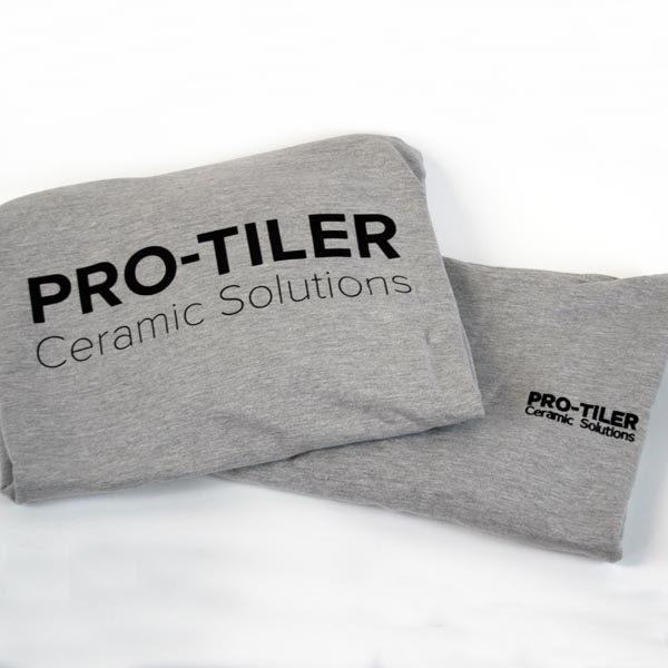 Pro-Tiler Case Study - Grey Tee-Shirt