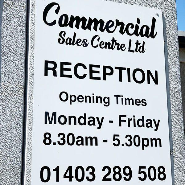 Commercial Sales Centre Signage