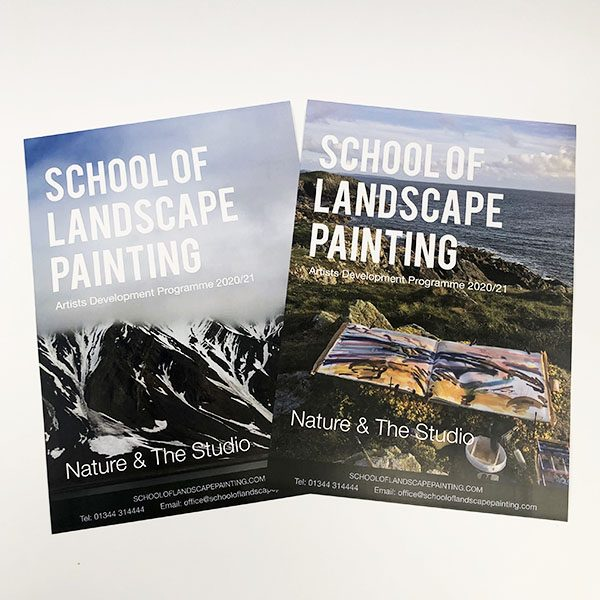 School of Landscape Painting Posters