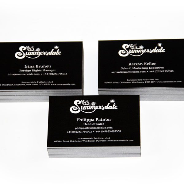Summersdale Publishing Business Cards